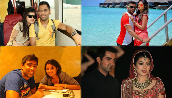Indian cricketers who have wives not less than Bollywood divas