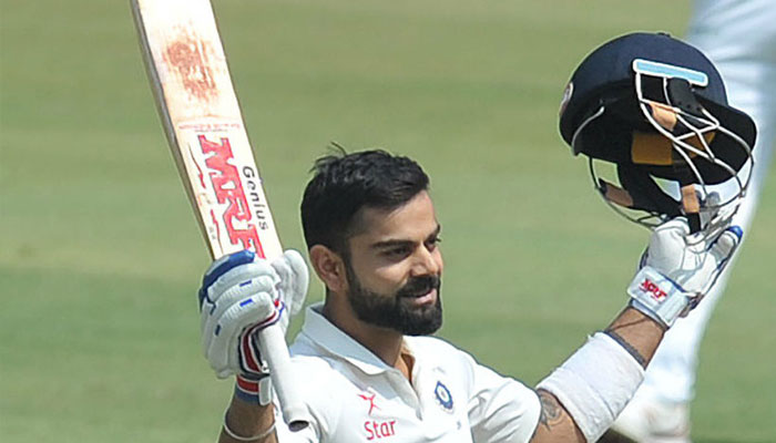 Kohli becomes second Indian batsman to reach 900 points in Test rankings