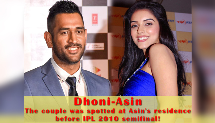 MS Dhoni and his tale of pre-marriage love affairs!