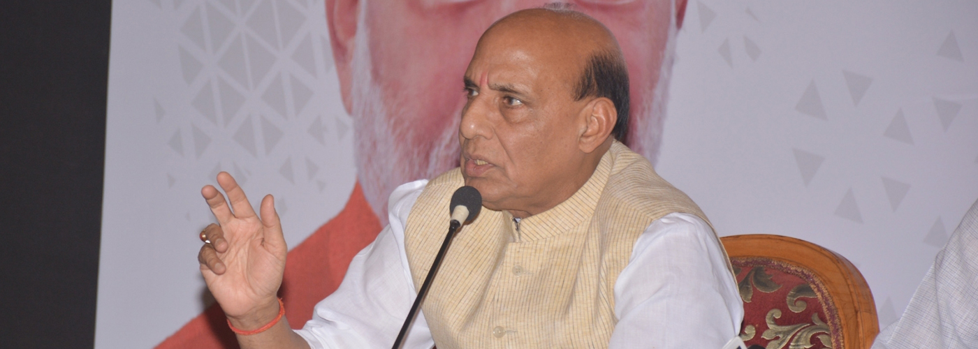 Bypolls: Taking two steps back must for a big leap, says Rajnath Singh