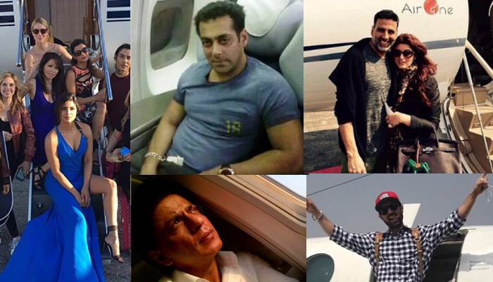 15 celebrities including Shah Rukh Khan, Salman Khan who own private jet