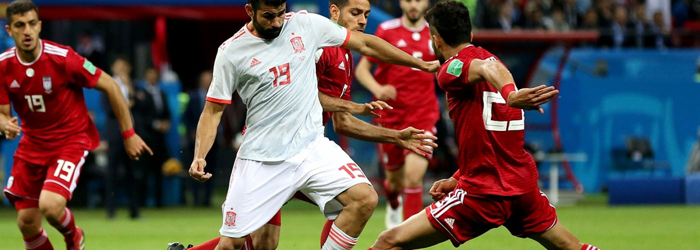 FIFA World Cup 2018: Scrappy Spain ride Costa goal to down gritty Iran
