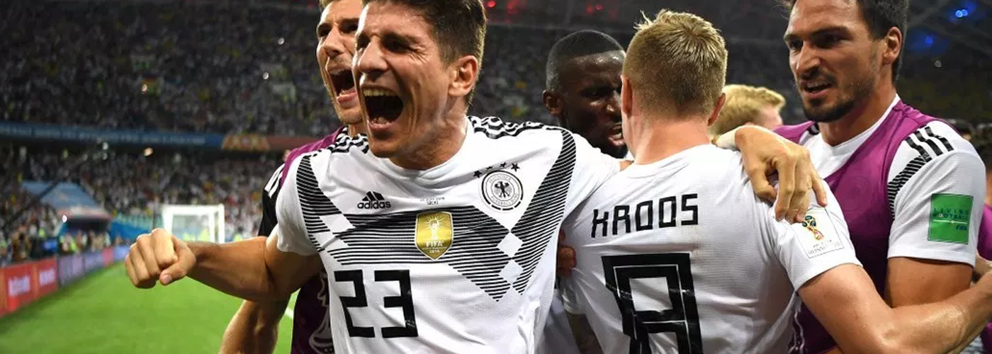 FIFA 2018: Germany beat Sweden 2-1 to stay alive