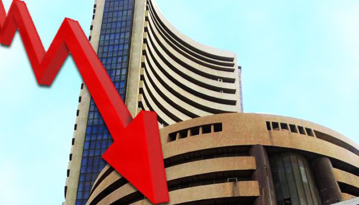 Sensex closes in red; down over 150 points