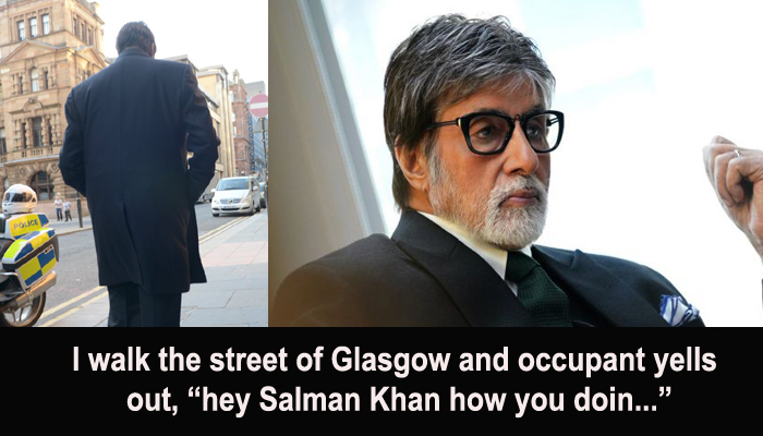 What? Megastar Amitabh Bachchan was not recognised by his fans!