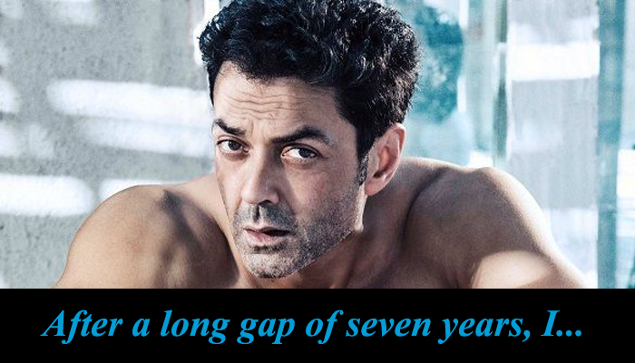 This is what matters the most to Bobby Deol