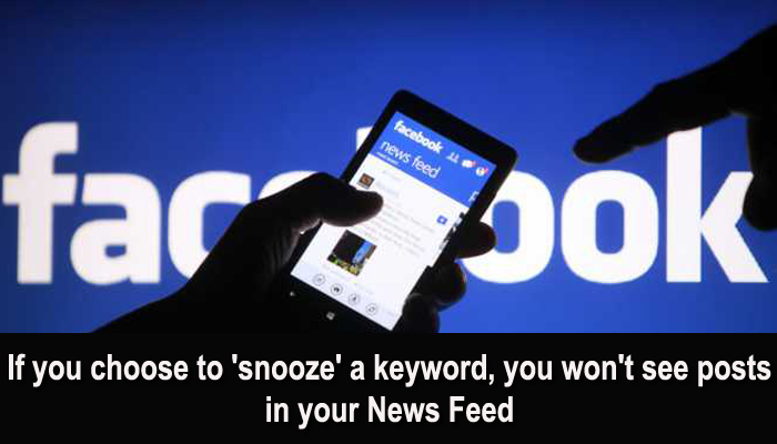 Facebook introduces new feature in News Feed