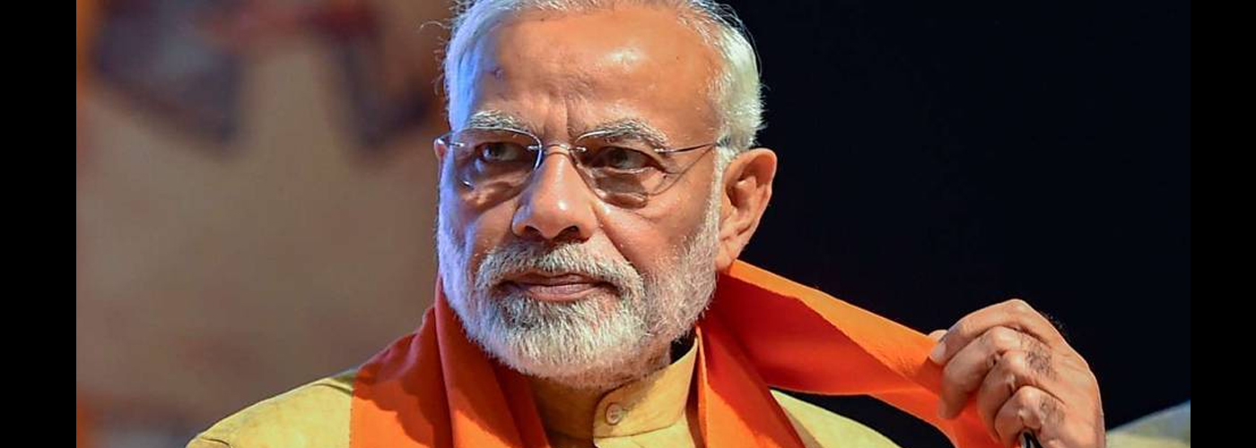PM Modi arrives in UP, to pay homage to Sant Kabir