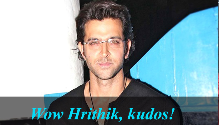 Hrithik Roshan has a gift for these IIT-JEE students