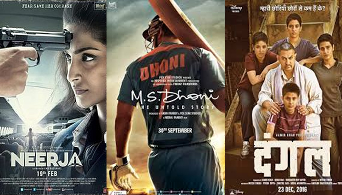 Top five most acclaimed Bollywood biopics
