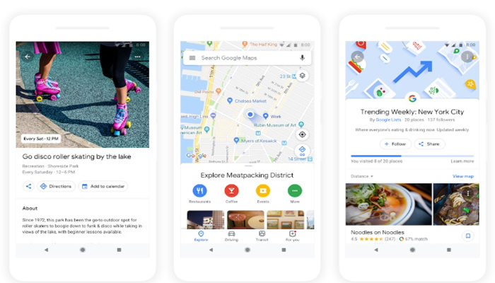 Google rolls out Maps updates globally