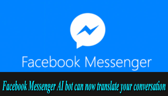 Facebook Messenger can now automatically translate conversations