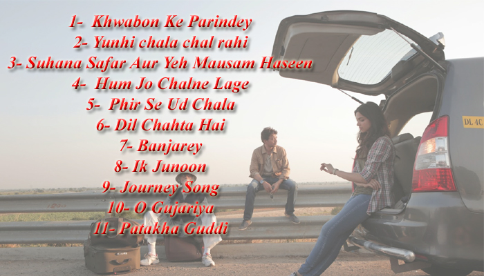 Bollywood songs that are must for every road trip playlist