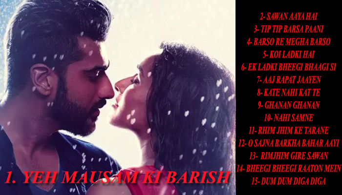 15 most romantic Bollywood songs to fill your Monsoon with love