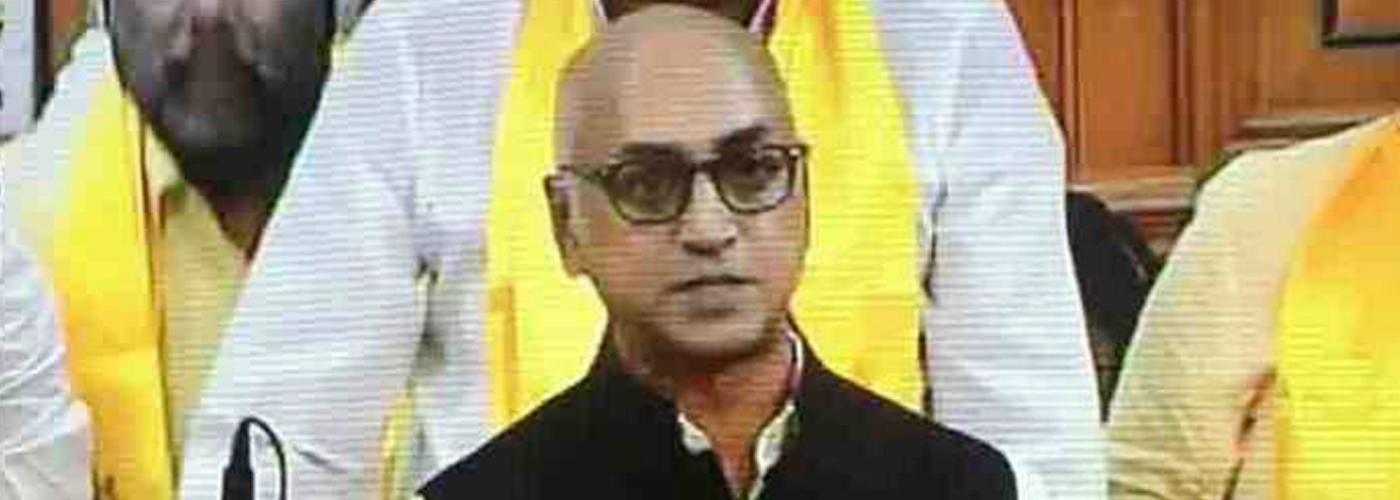 All about Jayadev Galla, who opened no trust motion debate