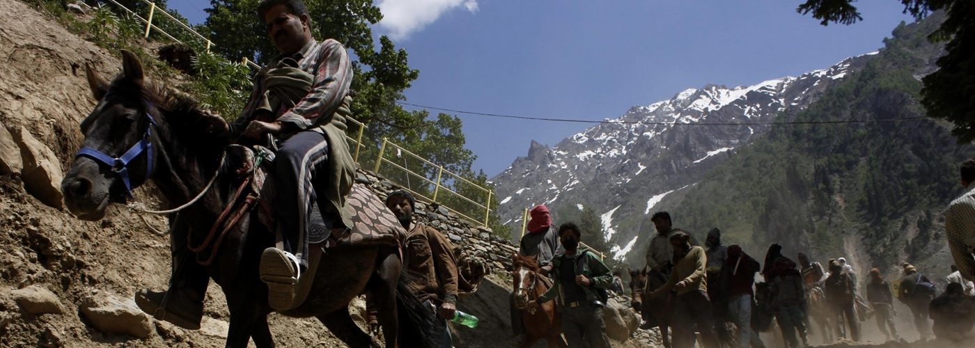 Over 700 pilgrims leave for Amarnath