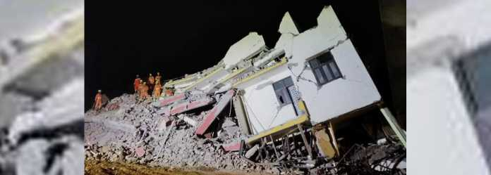 Building collapses in Noida: 9 dead, many still trapped
