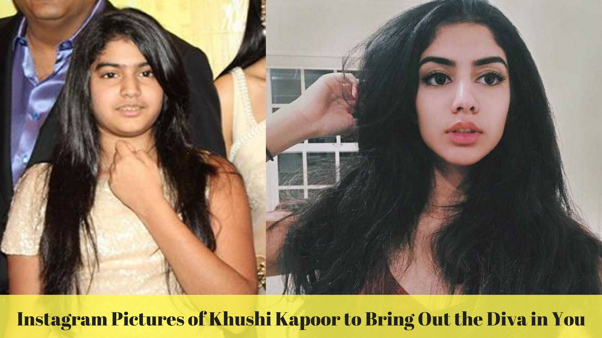 Instagram Pictures of Khushi Kapoor to Bring Out the Diva in You