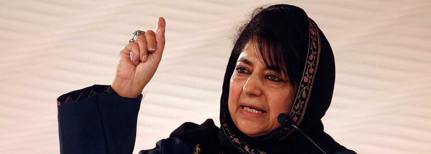 Mehbooba Mufti regrets joining hands with Modi-led BJP