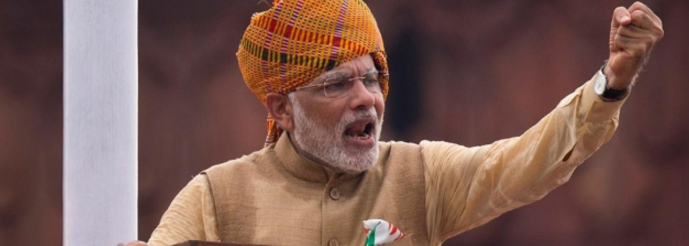 Farmers hold protest as Modi arrives in Punjab for farmers rally