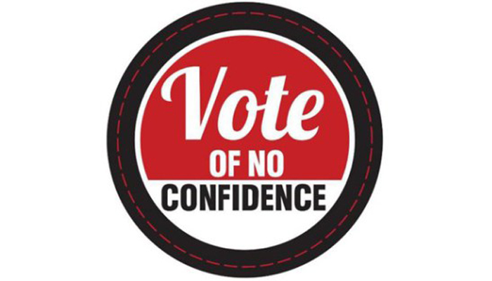 Which was the first country to witness a no confidence motion? Check