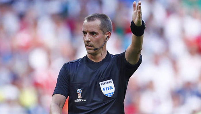 FIFA WC: Referee Geiger in eye of storm after England-Colombia game