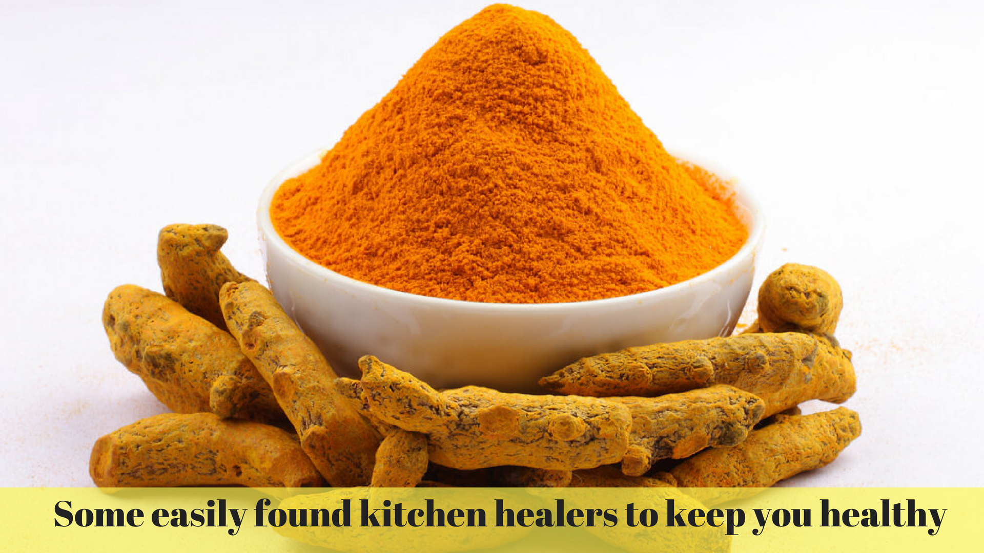 Some easily found kitchen healers to keep you healthy