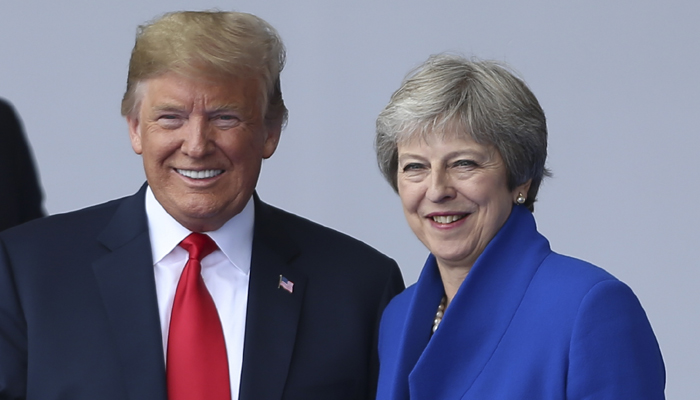 Donald Trump told me to sue European Union: Theresa May