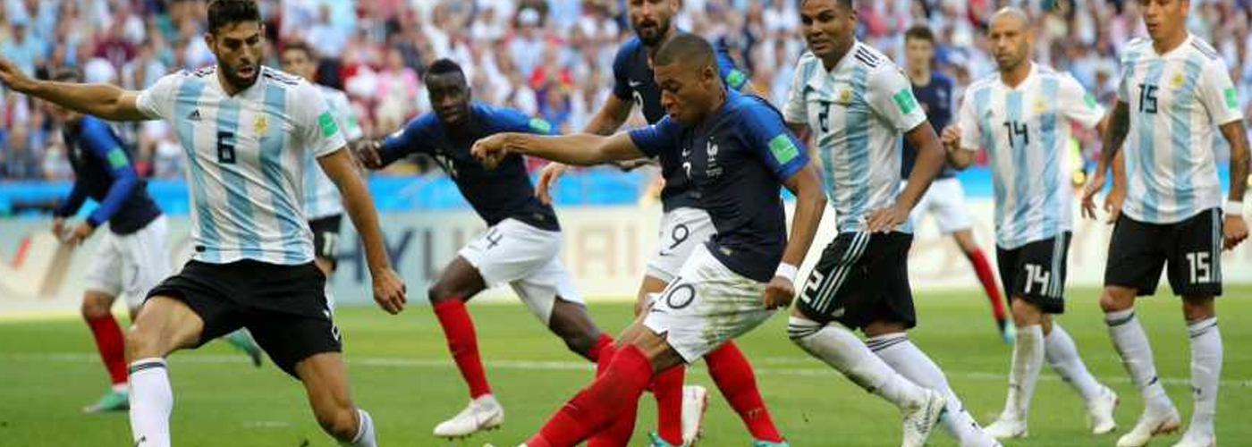 World Cup: France edges out Argentina to enter quarters