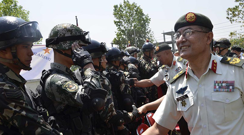 Nepal, China military drill to be held in September