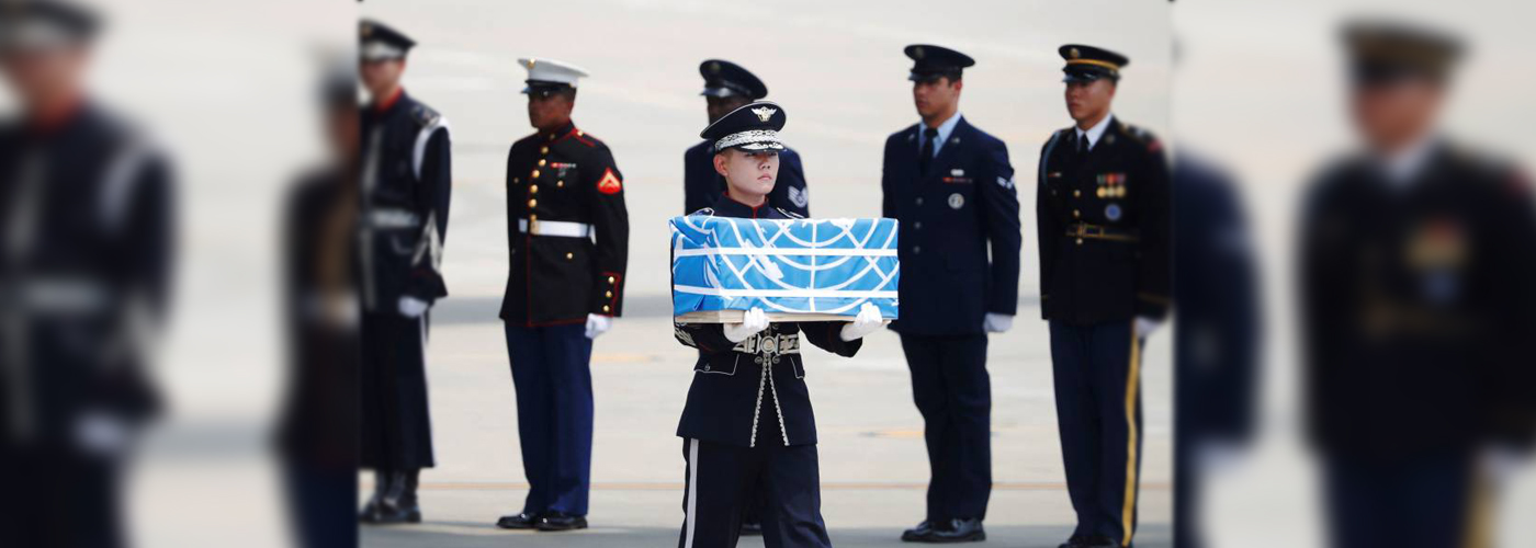 Remains of the US soldiers killed in 1950-53 Korean wars arrive in Hawaii