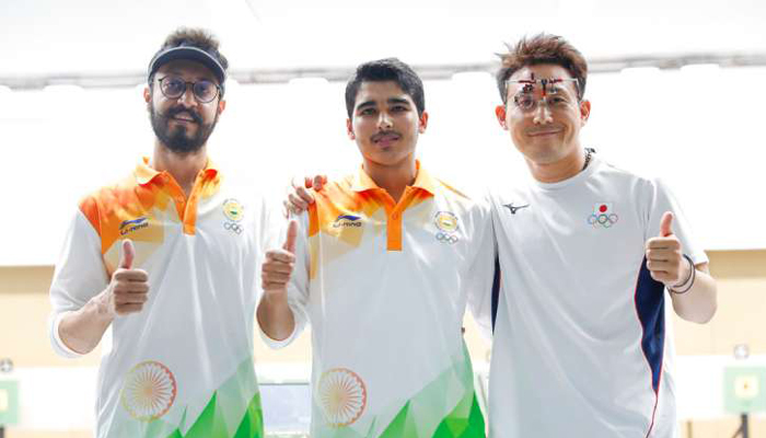 Asiad 2018: Saurabh wins gold, Abhishek gets bronze in Mens 10m Air Pistol final