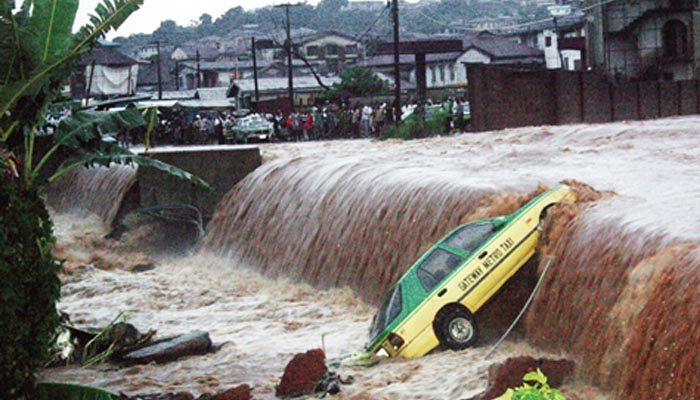 Over 100 people killed in Nigeria floods