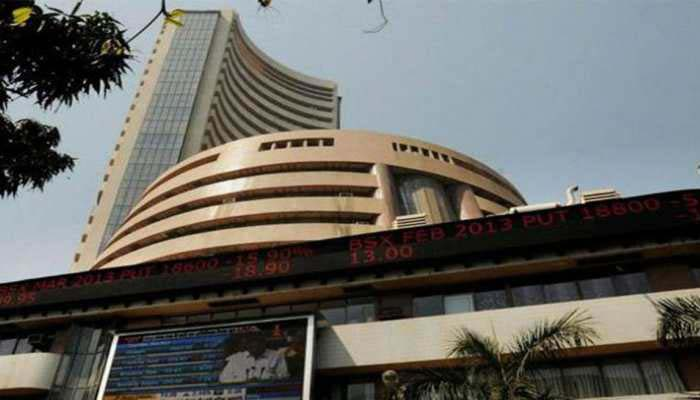 Sensex plunges 467 points on weak rupee; Nifty loses 151 points