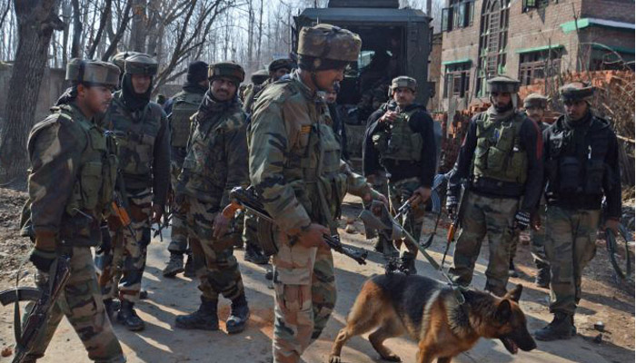 Three terrorists, soldier and a civilian killed in Kashmir Valley
