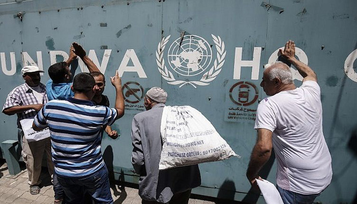 US stops aid to Palestinian refugee agency