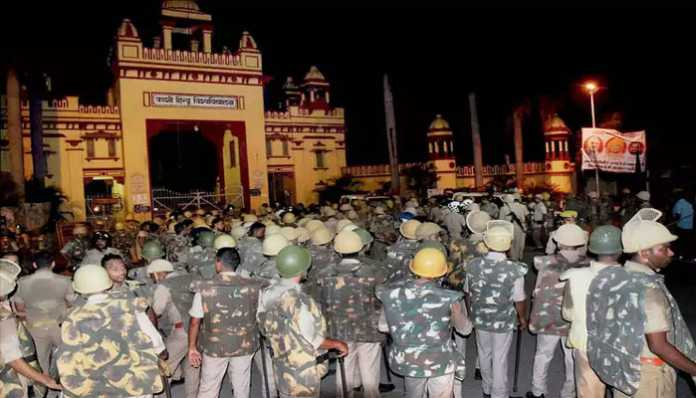 Violent clash between junior doctors and BHU students; six critically injured