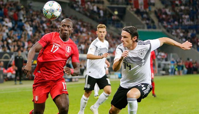 Peru lost to Germany in a friendly match by 2-1