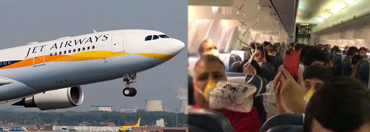 Passengers of Jet airways bleed; crew forgets to maintain cabin pressure