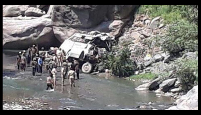 Eight killed in Jammu and Kashmir road accident