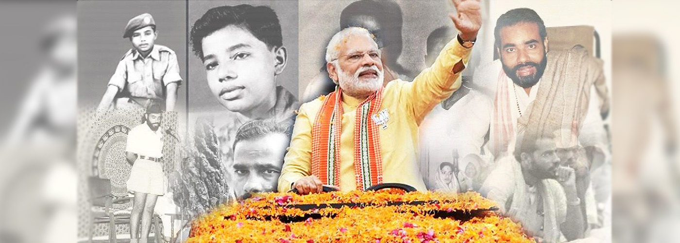 From common man to a leader of India; HBD PM Narendra Modi