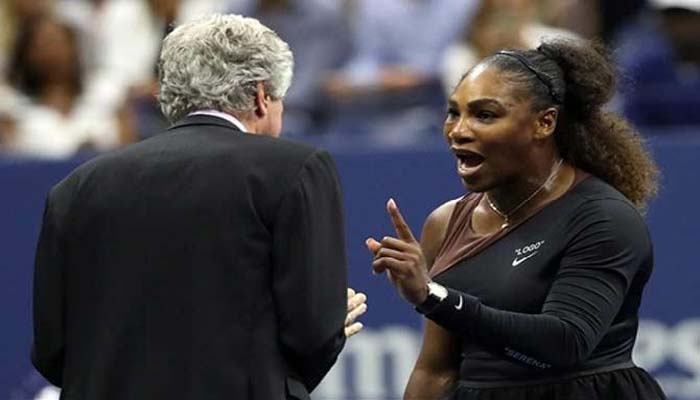 Serena Williams fined for violating tennis code of conductSerena Williams fined for violating tennis code of conduct