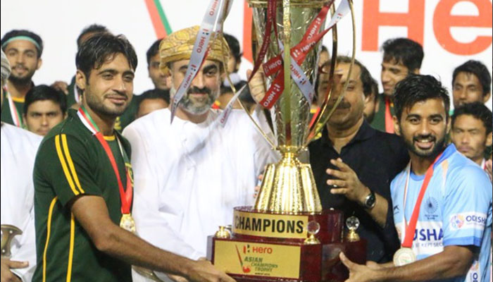 India, Pakistan declared joint winners of Asian Champions Trophy