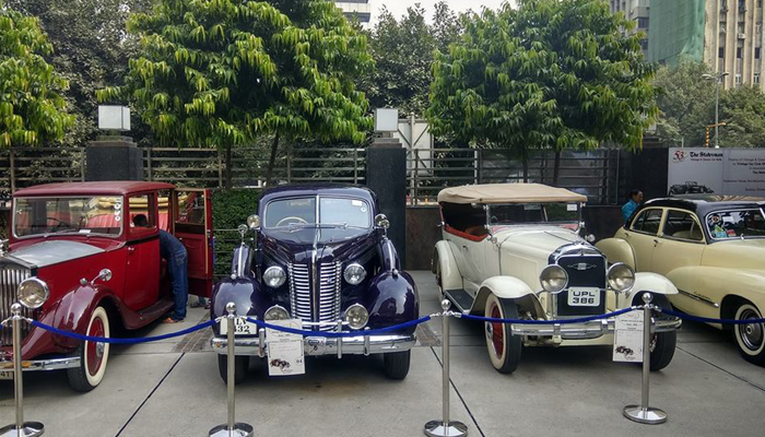 Over 50 vintage cars, bikes enthral guests at special show at Statesman House