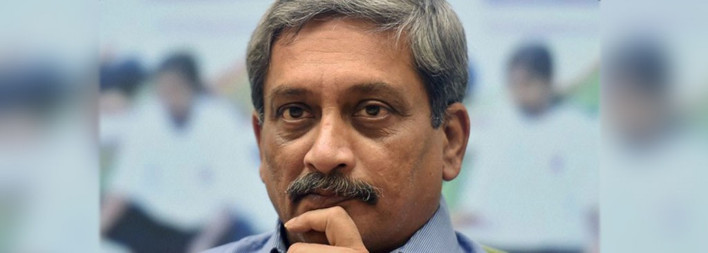 Parrikar arrives in Goa after being discharged from AIIMS