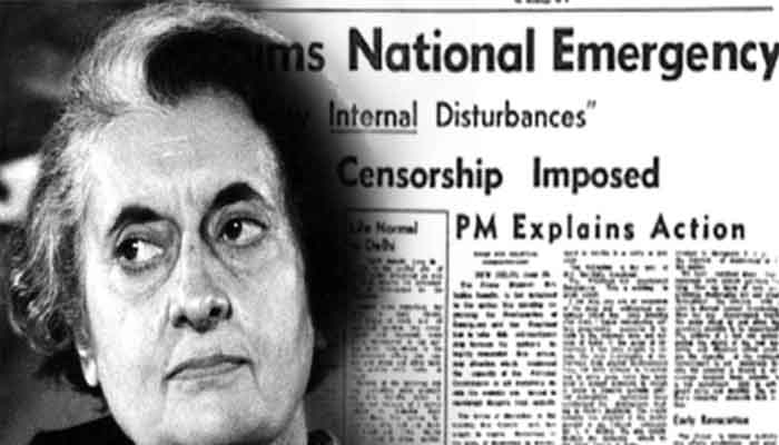 The role of Cold War in Indira Gandhis Emergency