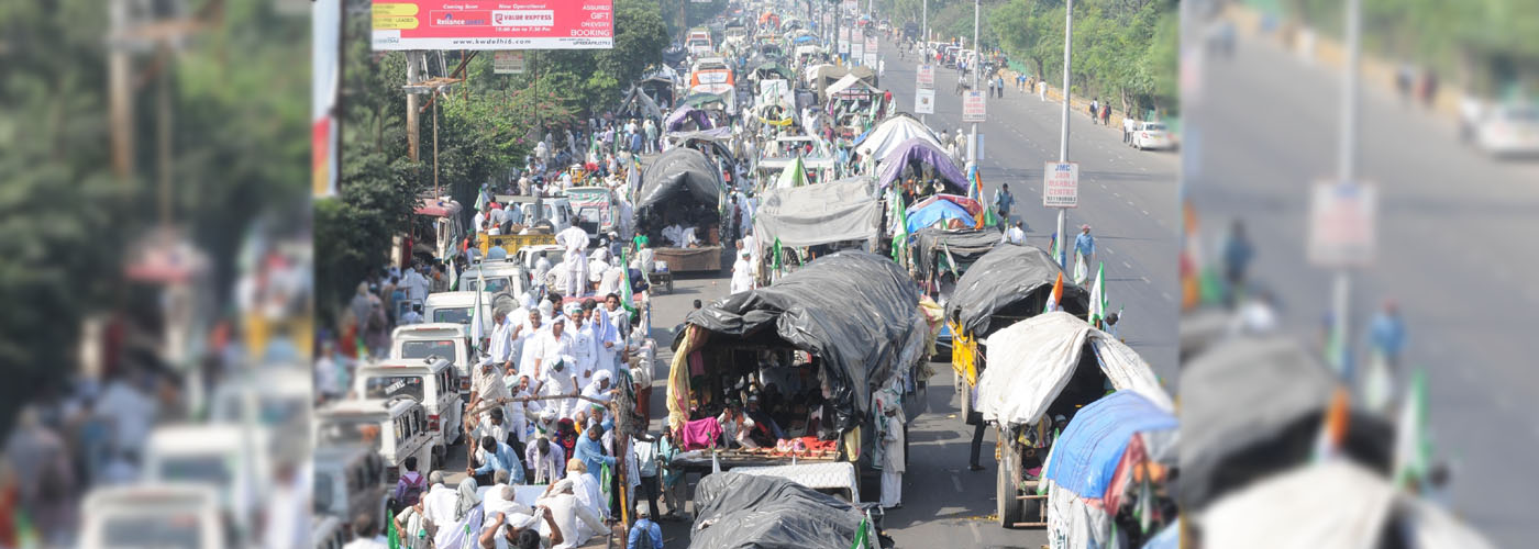 Farmers end 10-day march at Kisan Ghat, claim victory