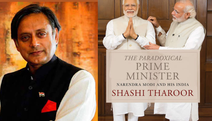 Tharoors new book on paradoxical Modi out this month