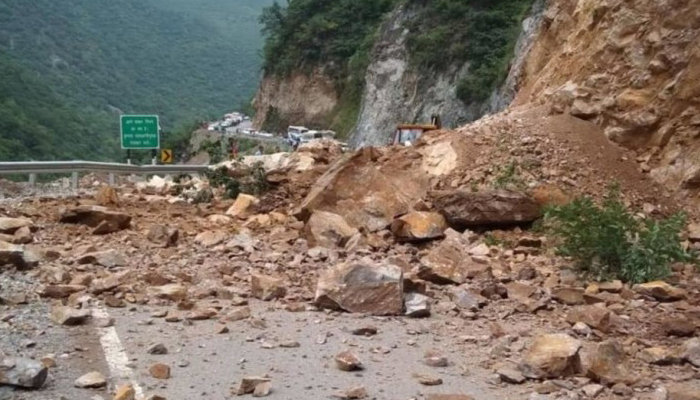 Landslide in J&K: Three bodies recovered including of truck driver