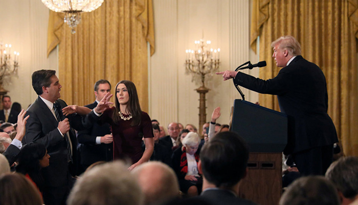 Trump admin: The Prez regulates access to the White House for journalists
